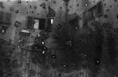 2/ nbu (Joa All I do) Tags: blackandwhite film 35mm exposure experimental f100 scratches nikonf100 multiple kodaktmax400 filmemulsion chemicalfilms damagedwithsalt