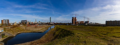 Manchester March 2016 (8 of 9) Panorama (johnlinford) Tags: city uk england urban panorama architecture manchester canonefs1022