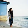Qiqi (rifqi dahlgren) Tags: portrait woman film beach mediumformat indonesia muslim hijab 80mm balikpapan hasselblad500cm analo kodakektar100