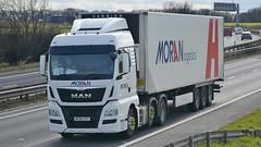 MC65 CFZ (panmanstan) Tags: uk man truck wagon yorkshire transport lorry commercial vehicle a1 darrington tgx