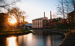 In the Heart of Olso (jameslosey) Tags: longexposure sunset oslo norway river norge spring april grnerlkka akerselva visitnorway akersriver canon6d akerselvan