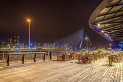 Rotterdam (mcalma68) Tags: longexposure nightphotography rotterdam erasmusbrug