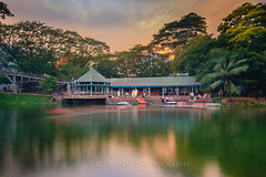 Dhanmondi Lake, Dhaka (abudarda) Tags: park longexposure lake water soft smooth fujifilm dhaka bangladesh cpl xt10 variablendfilter abudardaphotography