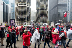 Marina March (Andy Marfia) Tags: chicago iso100 march loop candid rally crowd protest strike teachers marinatowers ctu f35 160sec wackerdr d7100 1685mm chicagoteachersunion