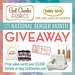 National Serger Month Giveaway