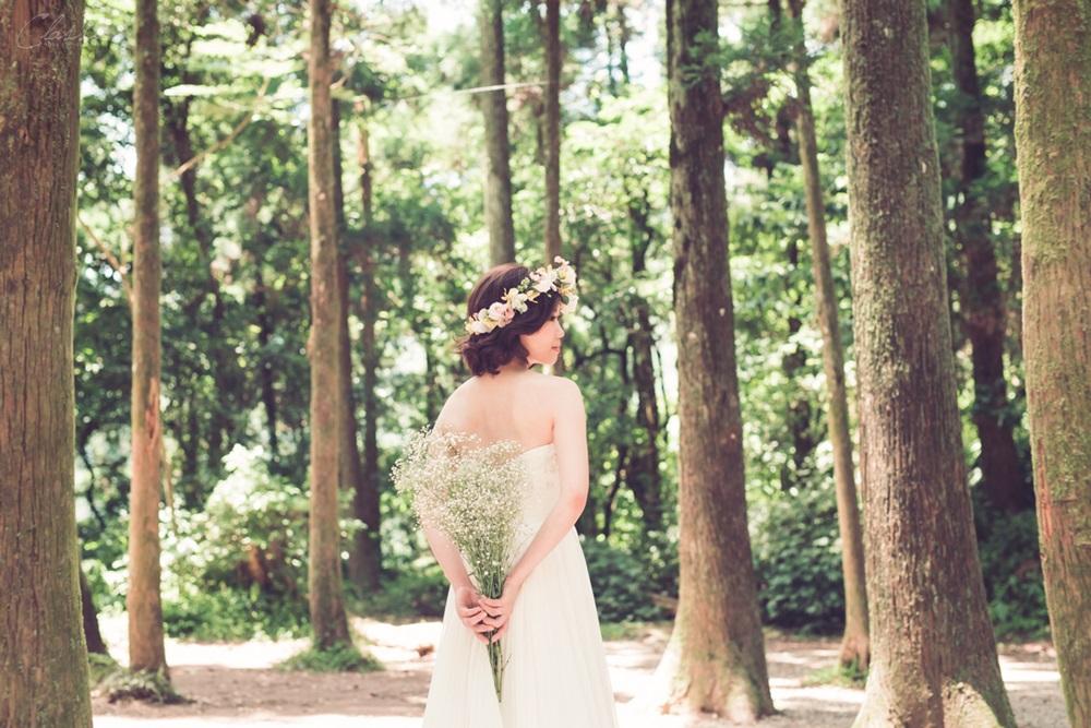 森林系自然婚紗外拍