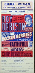 Roy Orbison Concert Flyer from the Mother Land 1965. (rockinred1969) Tags: uk roy 1965 prettywoman royorbison orby concertflyer concerthandbill royorbisonroyorbison1950s1960sprettywomanrockrollposterhandbillflyerelvisbeatlesoldiesgoodies