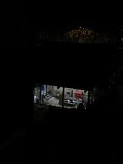 Studio (Blinking Charlie) Tags: usa vertical night uptown washingtonstate seattlecenter 2014 lowerqueenanne canonpowershots100 potterynorthwest blinkingcharlie