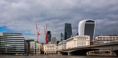 The City of London View  (Fujifilm X70 Compact) (markdbaynham) Tags: city uk london skyline modern skyscraper buildings prime fuji 28mm gb fujifilm pancake fujinon f28 compact x70 londoner londonist apsc fujix transx