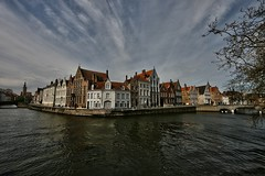 This must be Bruges (debeeldenplukker) Tags: water canal belgium brugge belgi bruges channel cityview canon30d