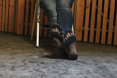 dirty party feet 566 (dirtyfeet6811) Tags: feet barefoot soles dirtyfeet dirtysoles blacksoles