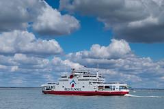 Red Funnel - DSCF7962 (s0ulsurfing) Tags: ferry clouds fuji april fujifilm isle cowes wight redfunnel 2016 s0ulsurfing xt1