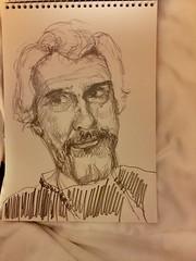 41 Clyde Semler for JKPP (Ujwala Prabhu) Tags: portrait pencil explore ujwala 2016 jkpp