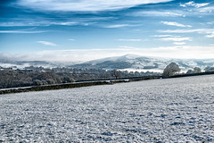 English Spring (rich01535) Tags: uk morning trees winter england sky snow cold tree nature field fog clouds landscape countryside spring nikon frost yorkshire country fields fullframe d610 silsden nikond610
