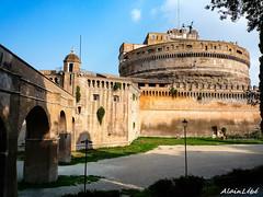 Chteau Saint-Ange (ASL-1959) Tags: italy rome roma architecture cit fortification chteau italie ville