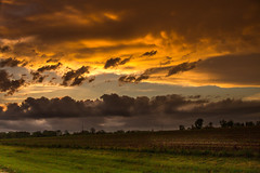 Pleasant Skies After Rain (Woodmizer62) Tags: sunset rain clouds evening goldenhour