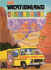 book coloring motorhome 1973 gmc vacationland