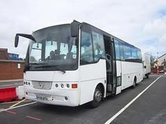 Alpha Travel of Newport, Isle of Wight FX51BTU (front) (harryjaipowell) Tags: bus ferry coach newport mercedesbenz isleofwight portsmouth ulverston iow solera optare minicoach camberdocks ferqui midicoach leckstravel alphataxis c39f 1223l alphatravel lui3037 fx51btu