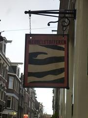 Meubelstofferen in Amsterdam (Süßwassermatrose) Tags: street city urban holland netherlands amsterdam sign europe outdoor streetphoto nl insegna streetview noordholland niederlande gracht cityview 2016 enseignes nederländerna meubelstofferen