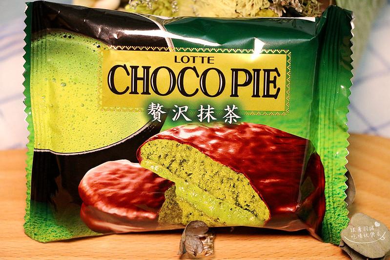 LOTTE日本樂天- CHOCO PIE奢華抹茶巧克力派21