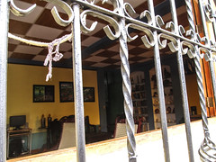 """Léon: intérieur de notre hôtel <a style=""""margin-left:10px; font-size:0.8em;"""" href=""""http://www.flickr.com/photos/127723101@N04/26533515282/"""" target=""""_blank"""">@flickr</a>"""