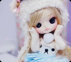 Saudades ( MaL Pink  ) Tags: bear baby cute doll dolls sweet fluffy dal mickey malu kawaii blonde mug pullip boneca caneca puki touca korilakuma