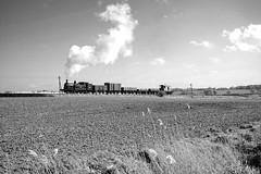 KESR 46718bw (kgvuk) Tags: trains locomotive railways steamtrain m7 steamlocomotive kesr northiam kenteastsussexrailway wittershamroad 30053 044t