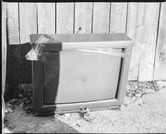 93750004 (alexdotbarber) Tags: blackandwhite 120 film television mediumformat tv houston 6x7 f8 1125 kodaktmax100 bronicags1 bronicazenzanonpg100mmf35 houstonfourthward