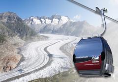 Kombi-Gletscherbahn-Moosfluh (aletscharena) Tags: winter schweiz viewpoint wallis aletschgletscher unescowelterbe moosfluh aletscharena