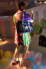 "Kyary Pamyu Pamuseum 2 ~Ishou Mori Mori Okashi na Mori~: Kyary Pamyu Pamyu's Costume of ""Yume no Hajima Ring Ring"" Music Video (Dick Thomas Johnson) Tags: music art fashion japan tokyo costume outfit  roppongi  wardrobe roppongihills minato       kpp  kyarypamyupamyu   kyarypamyupamuseum yumenohajimaringring"