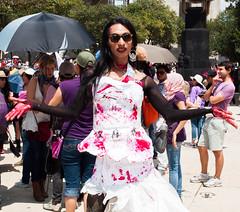 Mujer Transexual. (Yamileth Ruiz Avia) Tags: woman mxico mujer women mexicocity df abril 24 trans mujeres marcha feminists feministas 2016 24a ciudaddemxico feminista marchafeminista transexualwoman mujertransexual vivasnosqueremos mujertrans