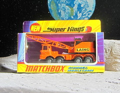 Matchbox Toys Super Kings Scammell Mobile Crane No. K-12 1971 : Diorama Moon Surface Space Sci-Fi Futuristic - 1 Of 34 (Kelvin64) Tags: moon mobile toys 1971 crane no space super surface kings scifi futuristic diorama matchbox k12 scammell