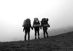 Hikers (annecutajar) Tags: travel oregon pacificcresttrail hikers mounthood sonyrx100iii