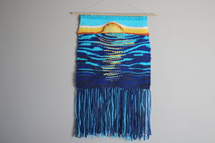 Sunset Weaving (thenotionsbox) Tags: sunset handmade crafts craft woven weaving weave handwoven