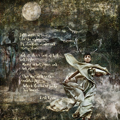 she walks (JuliannaZdunich) Tags: woman poem fantasy