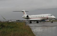 A9C-BAH Gulfstream G650, Bahrain Royal Flight, Bristol Lulsgate, Somerset (Kev Slade Too) Tags: bristol somerset salhiya gulfstream lulsgate eggd g650 bahrainroyalflight a9cbah flyingcentre