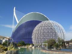 Oceanografic II (m_artijn) Tags: bird art valencia architecture modern spain ciudad cage artes agora ciencias oceanografic
