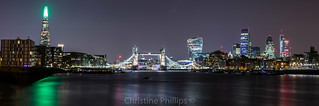 London Skyline from Bermondsey