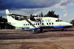 G-BNDM Short 360 Highland CVT Aug 97 (cvtperson) Tags: air highland short coventry atlantique cvt egbe 360100 gbndm
