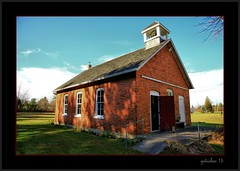 White Rock School - Museum (the Gallopping Geezer '4.8' million + views....) Tags: old school museum rural canon exterior interior country historic restored preserved geezer corel 6d 2015 oneroomschool oneroom 1room