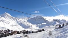 La Plagne - Plagne Bellecote (Cedric Biennais) Tags: mountain snow ski montagne du cedric neige savoie 73 plagne bellecote telesiege paradiski blanchet biennais