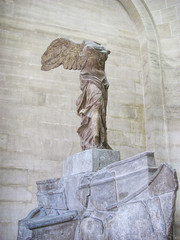 Winged Victory. (dckellyphoto) Tags: sculpture woman paris france art statue stone museum female headless carved îledefrance louvre interior nike armless artmuseum wingedvictory 2010 nikeofsamothrace