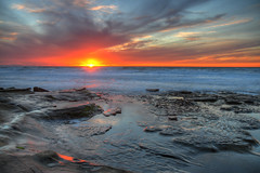 La Jolla Tide Pools sunset - 2/1/16 (San Diego Shooter) Tags: california sunset sandiego lajolla hdr lajollacove hdrsunset lajollatidepools sandiegosunest