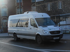 Newport Bus 211 (welsh bus 16) Tags: newport mercedesbenz 211 sprinter newportbus kx08hoj