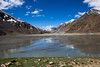 Beauty in the marsh (VariedReflections) Tags: travel blue sky mountains landscape la leh himalayas ladakh baralacha