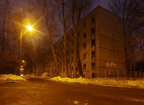 Пятиэтажки на Фестивальной улице