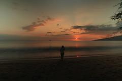 JAN 31 2016 (byronfairphotography) Tags: sunset sky color silhouette clouds hawaii long exposure maui