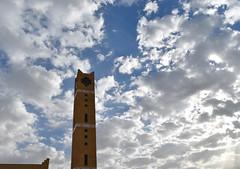 Cloudy (a.el) Tags: morning blue sky nature clouds bright cloudy mosque arabia cheer riyadh saudiarabia ksa
