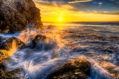 Best Malibu Sunset! Red, Yellow, Orange Clouds! Magical El Matador Beach Sunset! Nikon D810 HDR Photos Dr. Elliot McGucken Fine Art Photography!  14-24mm Nikkor Wide Angle F/2.8 Lens ! (45SURF Hero's Odyssey Mythology Landscapes & Godde) Tags: sunset beauty yellow sunrise lens ed photography nikon waves photographer zoom gorgeous fineart wideangle malibu nikkor afs fineartphotography zoomlens seacave f28g d810 malibusunrise nikond810 1424mm finestart elliotmcgucken drelliotmcgucken bestmalibusunsetred orangecloudsmagicalelmatadorbeachsunsetnikond810hdrphotosdrelliotmcguckenfineartphotography 1424mmnikkorwideanglef28lens