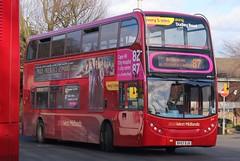 National Express West Midlands Alexander Dennis Enviro400 4754 (BV57 XJX) (West Bromwich) 'Evie' (john-s-91) Tags: dudley route87 4754 alexanderdennisenviro400 nationalexpresswestmidlands prideprejudicezombies bv57xjx